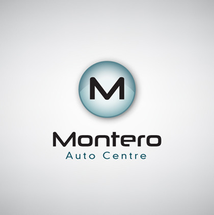 Logo and Branding Design for Montero Auto