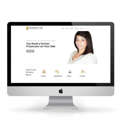 Ahmadieh Law – Branding and Website